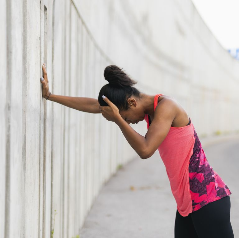 How to stop an exercise headache