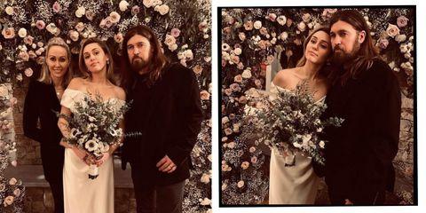 Miley Cyrus Parents Wedding
