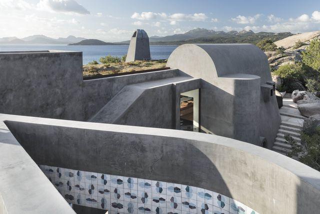 la villa in costa smeralda di stera architectures