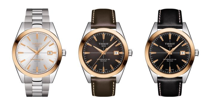 Exclusive: Tissot Releases New 'Gentleman Automatic' Collection
