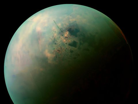 NASA Titan moon