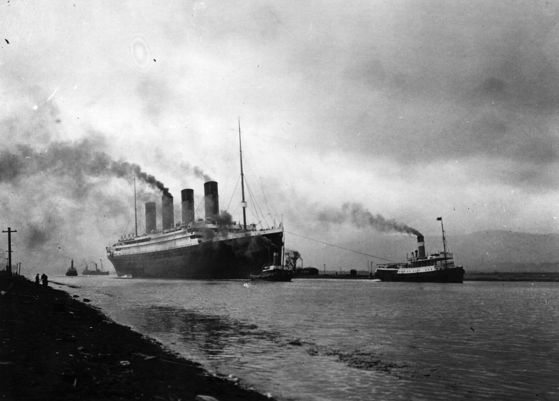 titanic hundimiento
