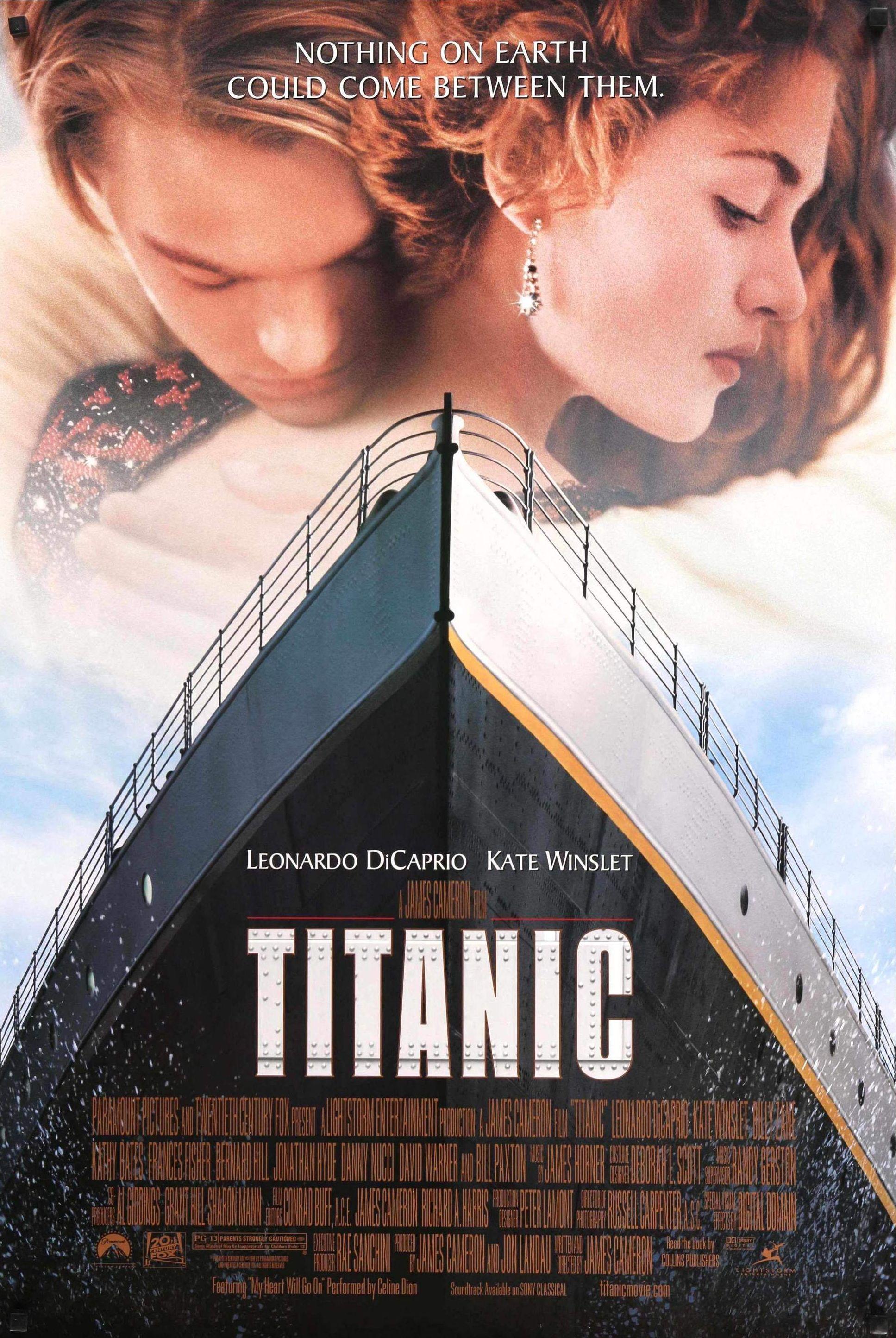 titanic movie poster