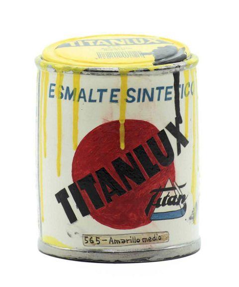 pieza de cerámica de lata de titanlux por rorro berjano