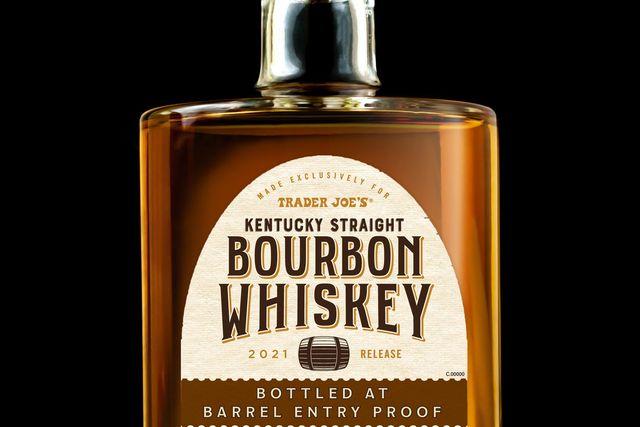 trader joes buffalo trace bourbon whiskey barrel entry proof