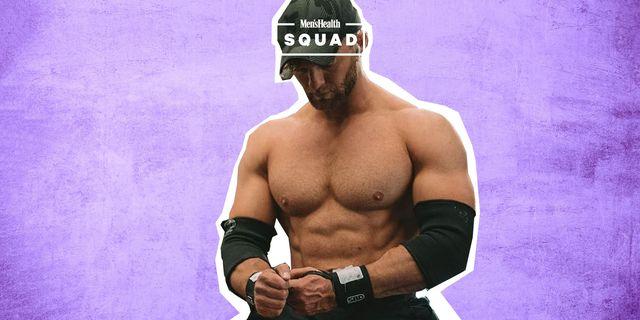 rutina de entrenamiento de culturista para músculos en verano