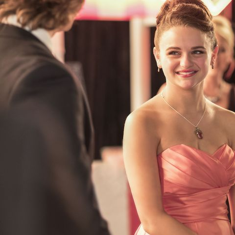 Photograph, Facial expression, Dress, Ceremony, Red, Event, Formal wear, Hairstyle, Skin, Fashion,