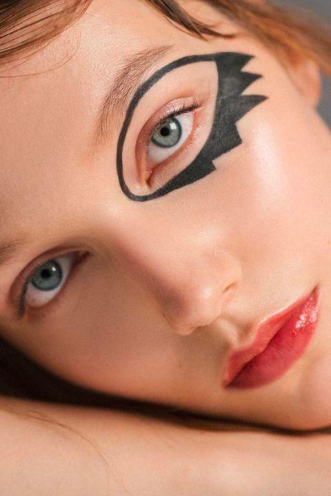 15 Easy Halloween Eye Makeup Ideas 2018 How To Do Halloween Makeup