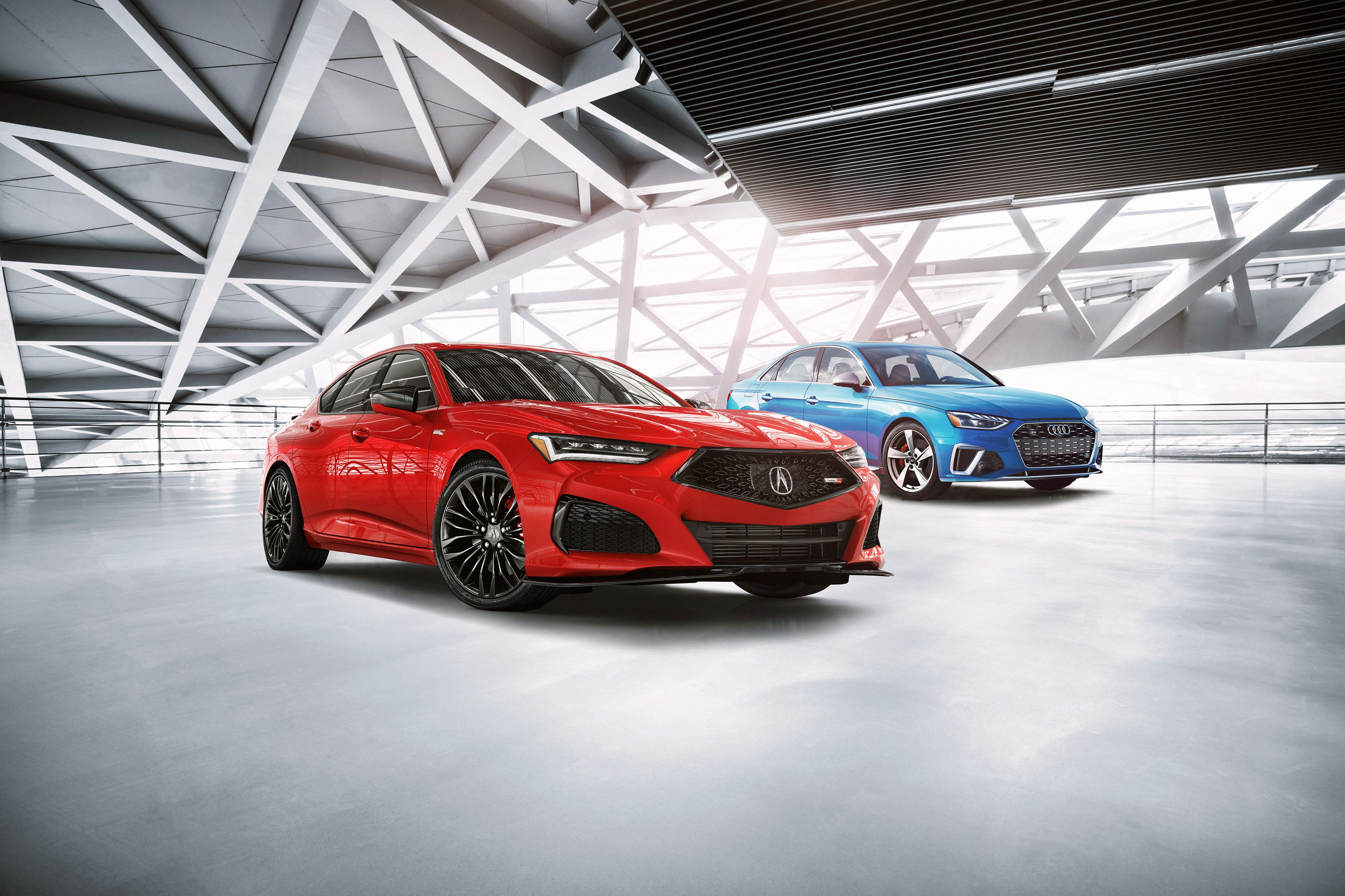 2021 Acura Tlx Vs Audi A4 S4 How The Sports Sedans Stack Up