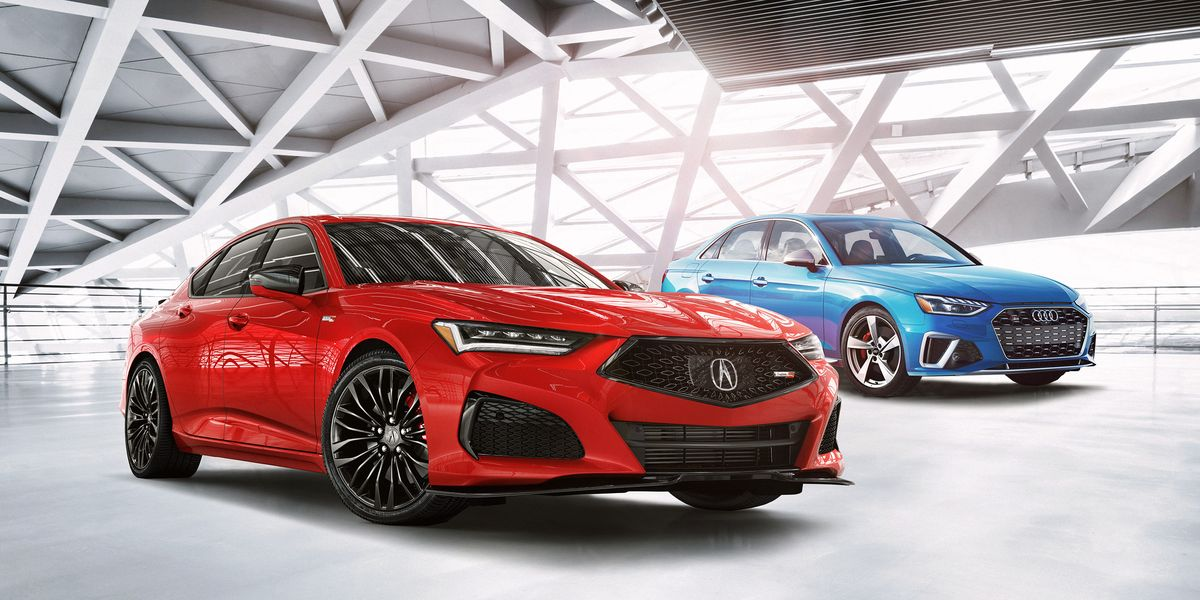 2021 Acura TLX vs. Audi A4/S4: How the Sports Sedans Stack Up