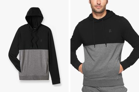 tommy john luxe french terry hoodie