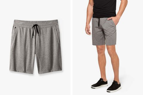 tommy john luxe french terry short