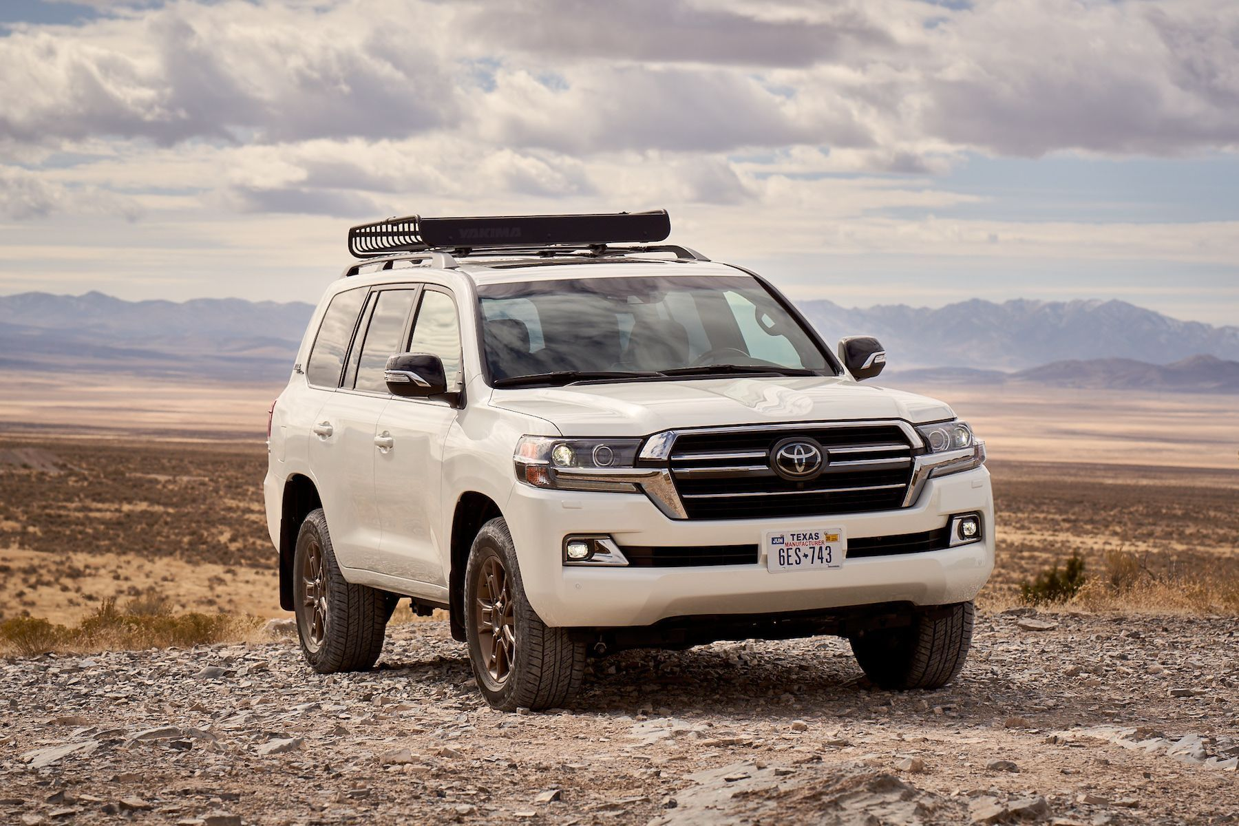 2020 Toyota Land Cruiser Spy Shoot