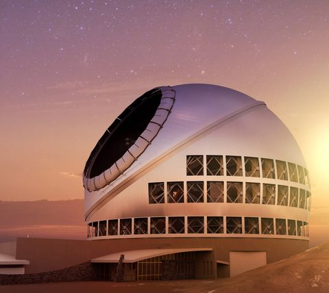 Architecture, Sky, Building, Observatory, Dome, Dome, Science, Space, Opera house, Stadium,