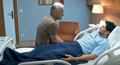 burak en el hospital