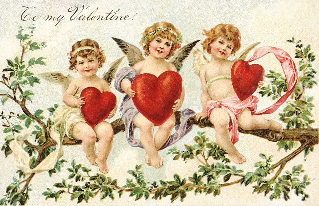 til min valentinske viktorianske valentine