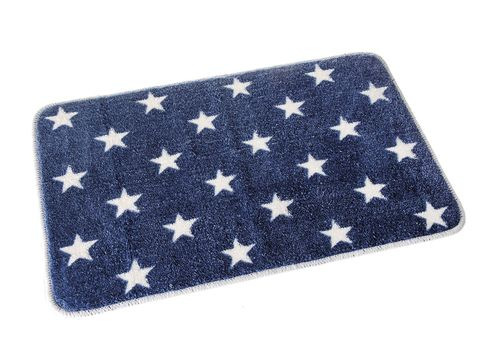 Cobalt blue, Flag, Wallet, Flag of the united states, Rectangle, Pattern,