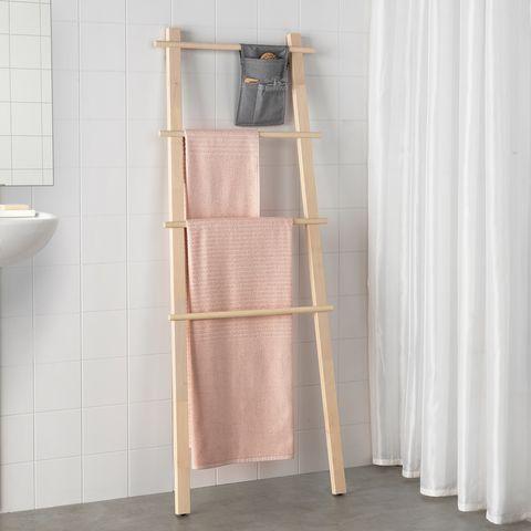 toallero de abedul de ikea