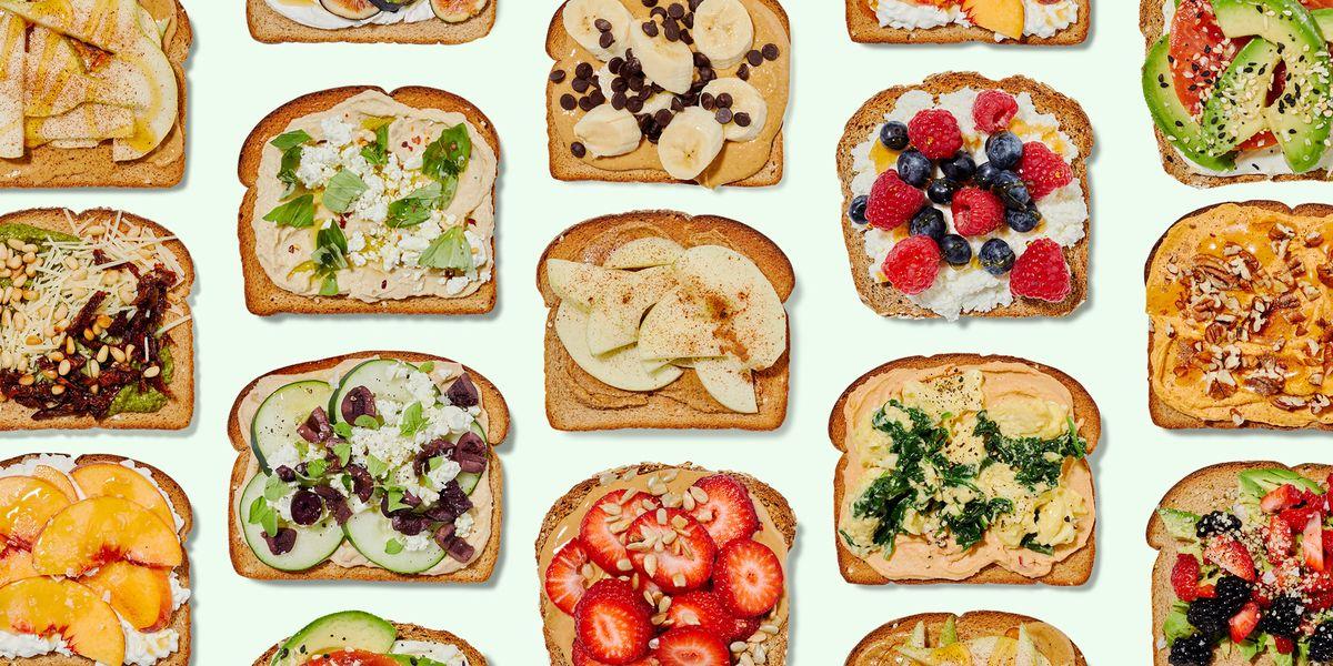 15 Healthy Toast Recipes Filling Breakfast Toast Ideas