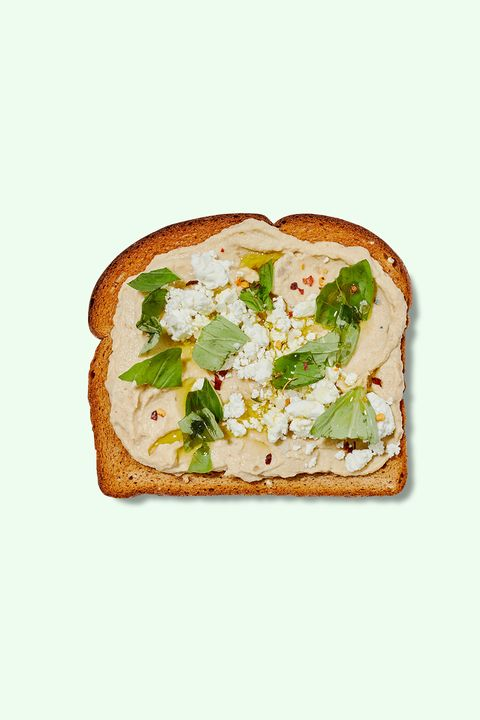 baba ganoush toast idea