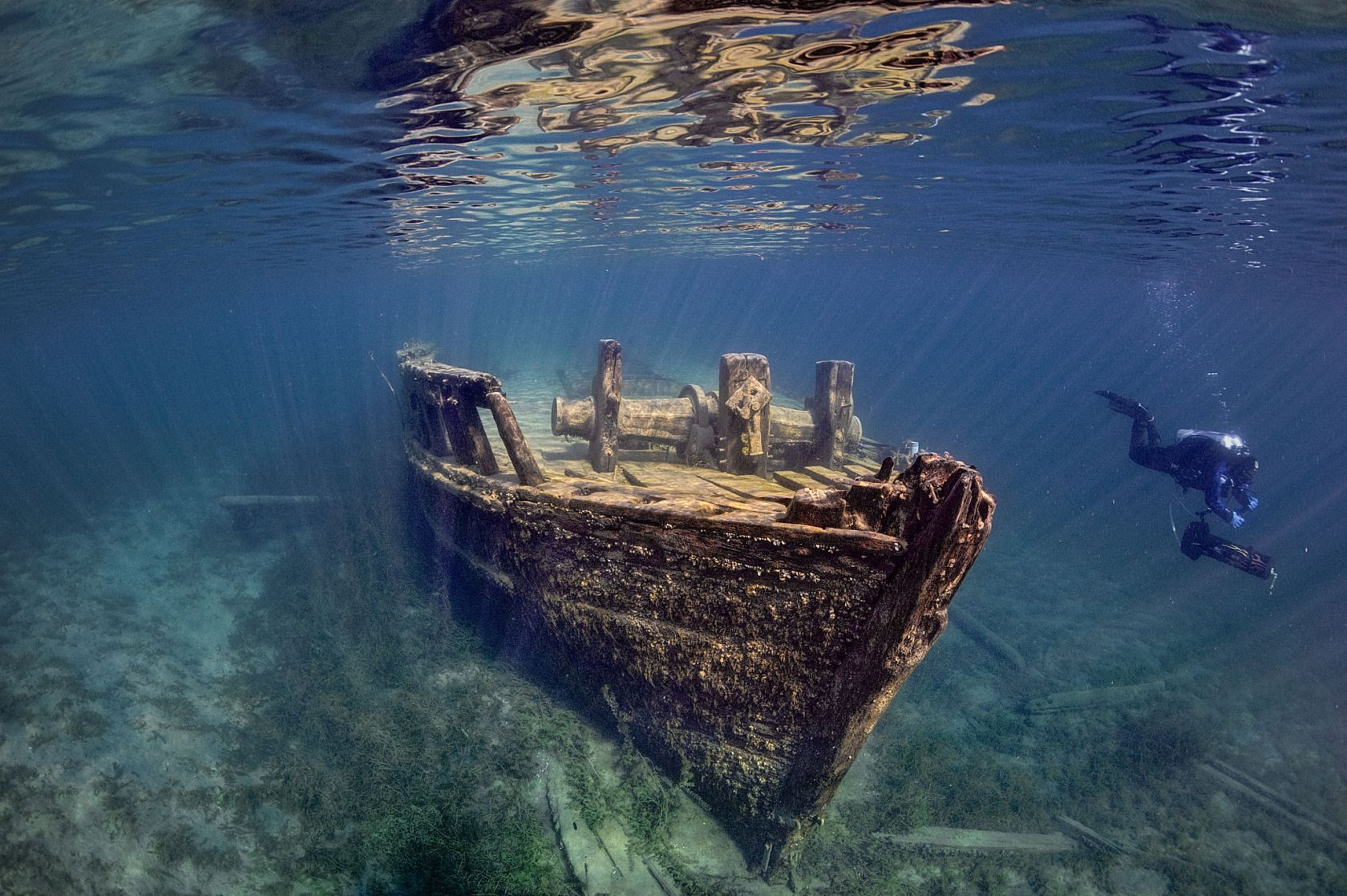The 25 Coolest Shipwrecks In the World