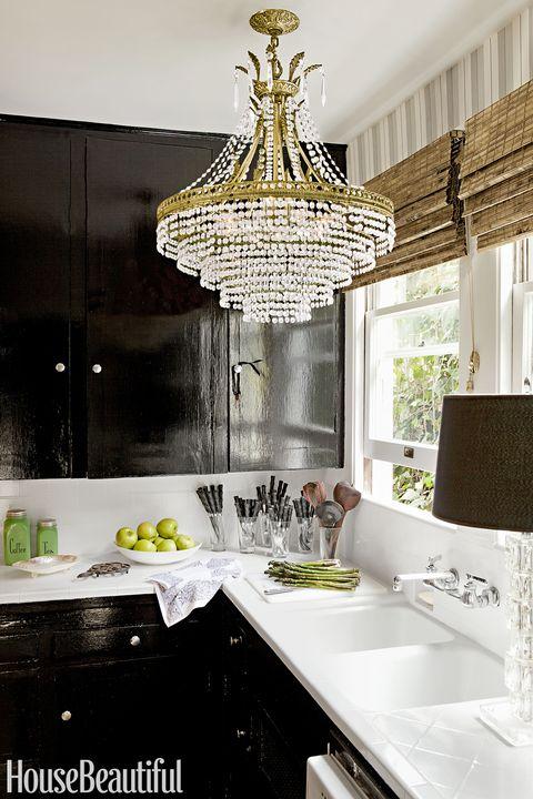 tobi tobin black kitchen cabinets