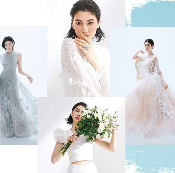 2020年『25answedding』を彩った三吉彩花さん♡美しきドレス図鑑総集編