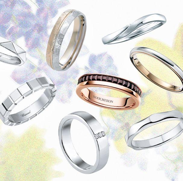 【花婿編】人気ブランドで見つける! 最愛♡結婚指輪best17