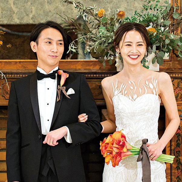 おしゃれ花嫁のこだわりを詰め込んだ、喜びあふれるレストラン婚