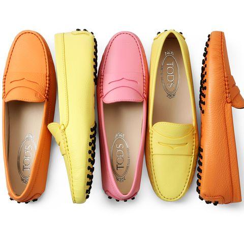 TOD'S 豆豆鞋繽紛色彩完全激起少女心。