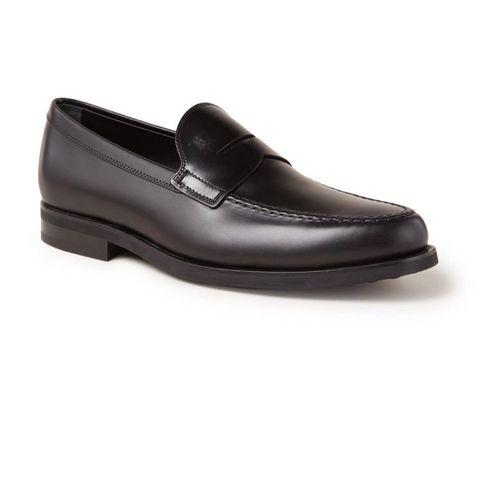 tod's gomma loafer van leer