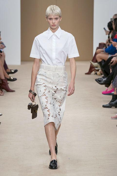 Camicia bianca moda Primavera Estate 2020