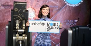 UNICEF Today Appointed Emmy-Nominated Actress Millie Bobby Brown As Its Youngest-Ever Goodwill Ambassador On World Children's Day