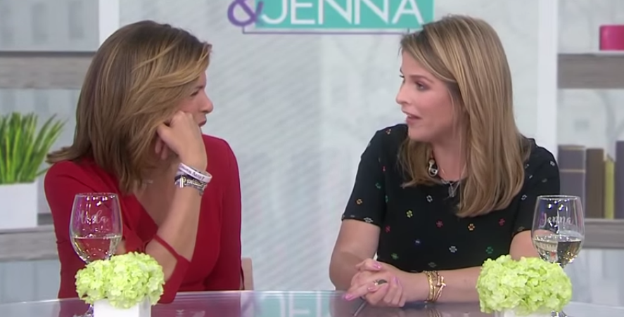 """d905049d3a5a 'Today' Star Hoda Kotb Talks About Jenna Bush Hager's """"Mess Ups"""" Since  Kathie Lee Gifford Left"""