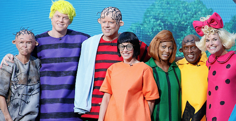 See All the Fabulous 'Today' Show Halloween Costumes Over the Years