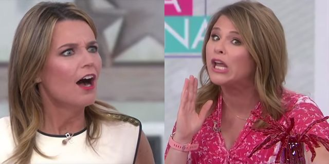 Today Show S Jenna Bush Hager Reveals A Huge Secret About Savannah Guthrie And Her Husband