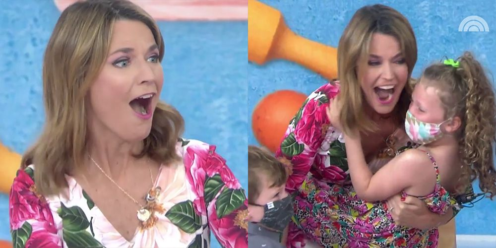 Savannah Guthrie Got Super Emotional When the 'Today' Show Cast Surprised Her