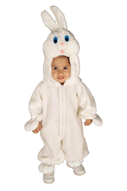 Bunny Costume Baby Toddler Kids Easter Halloween Fancy Dress