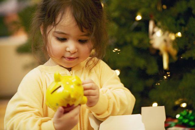 gifting money to children