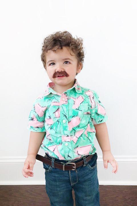 toddler jim hopper costume diy 80s costumes