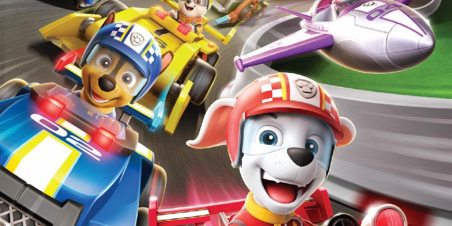 You Can Buy a Movie Where the 'Paw Patrol' Pups Drive Race Cars for Some Reason