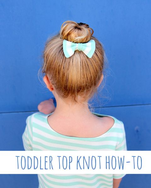 toddler top knot easy kids hairstyles