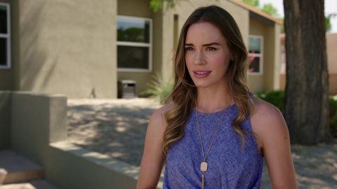 Christa Brittany en una escena del telefilme 'Todo por mi hijo'