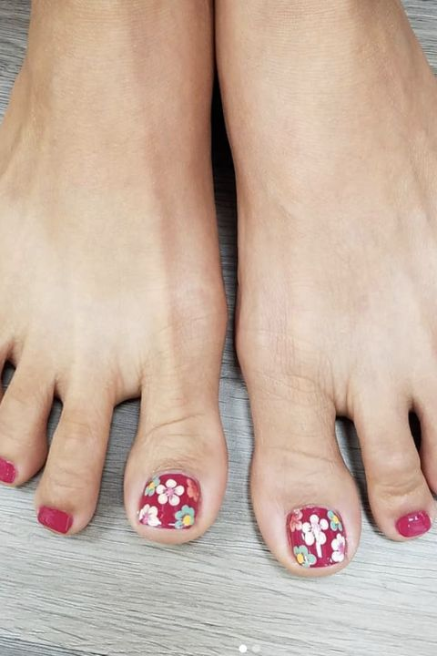 toe nail art designs - 11 Cute Toe Nail Art Designs 2018 - Best Toenail Polish Ideas