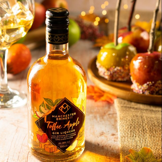 manchester toffee apple gin liqueur