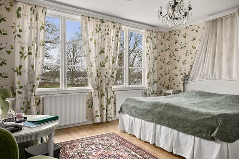 Bedroom, Room, Curtain, Interior design, Property, Furniture, Window treatment, Bed, Wall, Window covering,