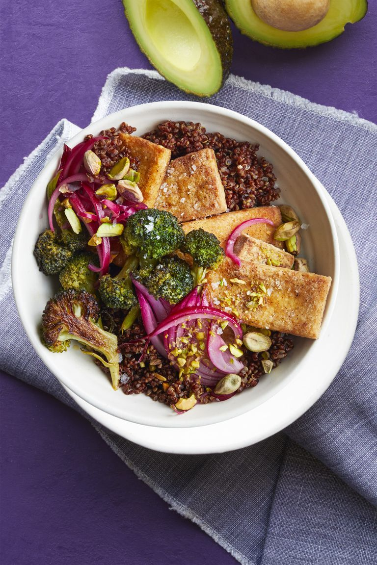Tofu Broccoli Bowl - Tofu Recipes