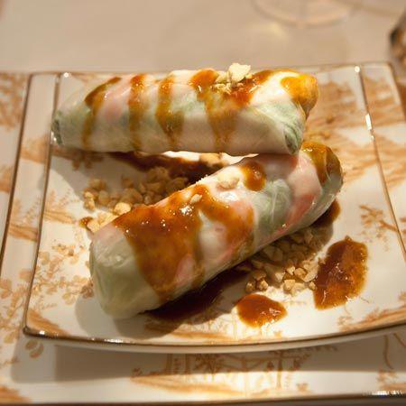 Summer Rolls with Marinated Tofu