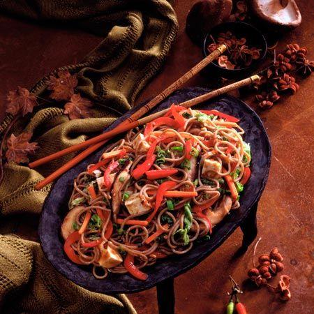 Black Sesame Tofu and Vegetable Stir-Fry