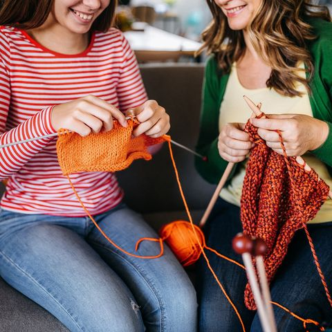 mothers day ideas during quarantine knitting